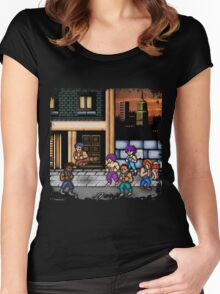 Double Dragon Alternate (Request) Women's Fitted Scoop T-Shirt