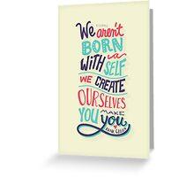 You make you Greeting Card