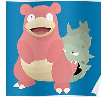 Slowbro Poster