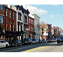 Georgetown - M Street Photographic Print