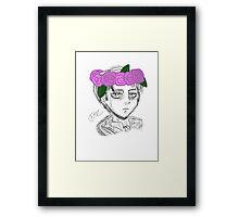 Levi Bust Framed Print
