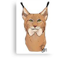 The Lynx - Bust Canvas Print