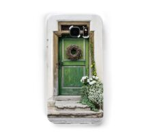 Rustic Wooden Village Door - Austria Samsung Galaxy Case/Skin