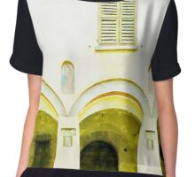 Fognano: arch and windows Chiffon Top