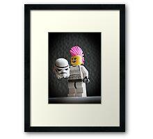 Stormpunk! Framed Print