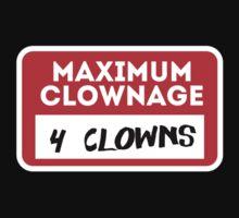 Maximum clownage Kids Tee