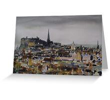 Edinburgh 5 Greeting Card