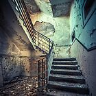 Derelict Staircase by Art Hakker Photography