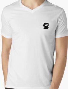 Pixel Death Mens V-Neck T-Shirt
