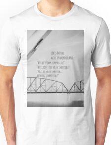 Alice Wonderland Impossible Unisex T-Shirt