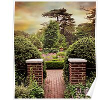 Herb Garden Entrance Poster