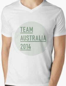 EverySaturday Supporting the Socceroos Mens V-Neck T-Shirt