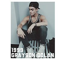 1999 Grayson Dolan-border Photographic Print