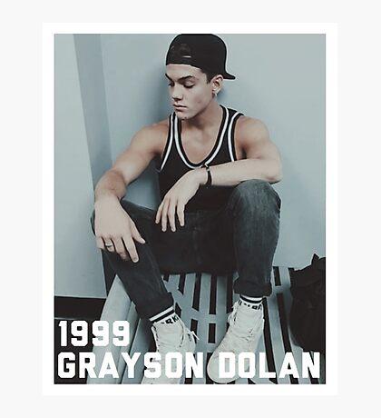 1999 Grayson Dolan-border Photographic Print