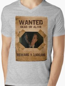 Buffy The Mayor Wanted 1 Mens V-Neck T-Shirt