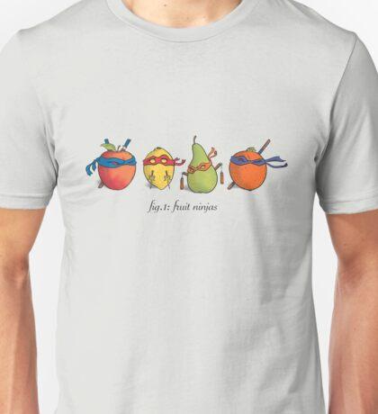 Fruit Ninja Turtles Unisex T-Shirt