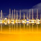 Marina Lights by Peter Doré