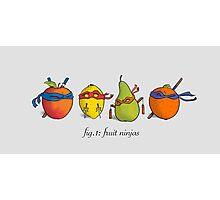 Fruit Ninja Turtles Photographic Print