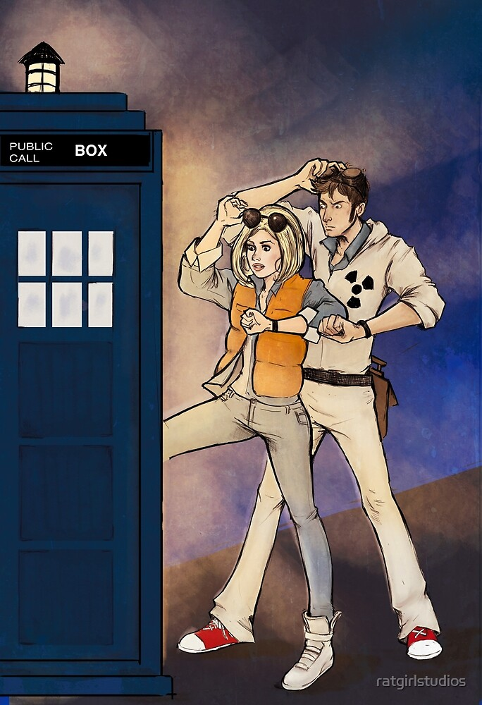 Back to the Tardis by ratgirlstudios