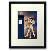 Back to the Tardis Framed Print