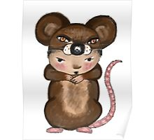My Favourite Animal is the Brown Mouse Poster