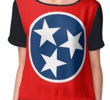 Tennessee Flag Chiffon Top