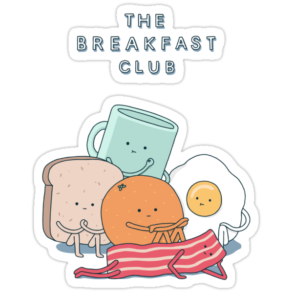 Quot The Breakfast Club Quot Stickers By Haasbroek Redbubble