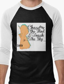 Chase The Wind & Touch The Sky Men's Baseball ¾ T-Shirt