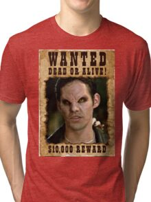 Buffy Xander Wanted Vampire Tri-blend T-Shirt