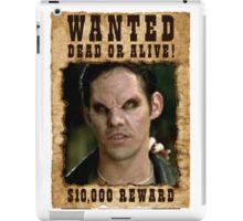 Buffy Xander Wanted Vampire iPad Case/Skin