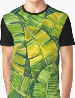 Banana Leaves Graphic T-Shirt