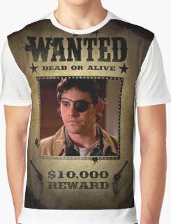 Buffy Xander Wanted 2 Graphic T-Shirt