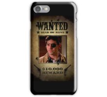 Buffy Xander Wanted 2 iPhone Case/Skin