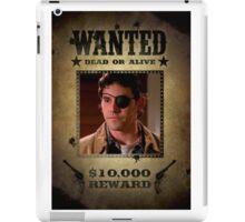Buffy Xander Wanted 2 iPad Case/Skin