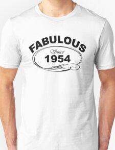 Fabulous Since 1954 T-Shirt