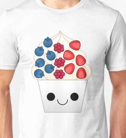 kawaii berry frozen yogurt Unisex T-Shirt