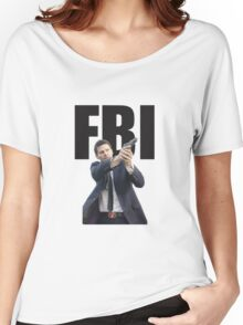 Bones Booth FBI David Boreanaz Women's Relaxed Fit T-Shirt