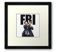 Bones Booth FBI David Boreanaz Framed Print