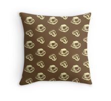 Dark Roast Throw Pillow
