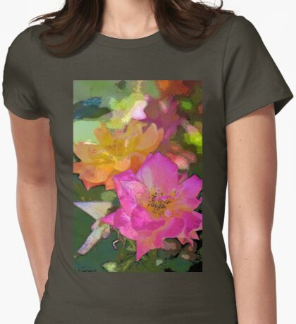 Rose 114 Womens Fitted T-Shirt