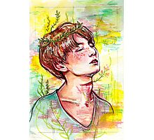 OVERGROWN | JUNGKOOK Photographic Print