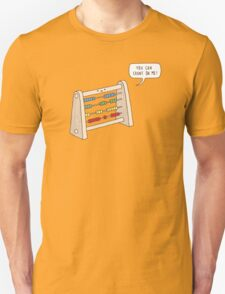 The Ever-Reliable Abacus Unisex T-Shirt