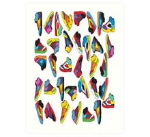 sneak-o-file Art Print