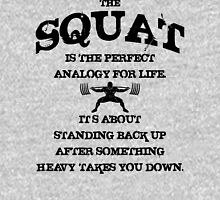Squat Analogy Unisex T-Shirt