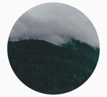 Pacific Northwest Lake One Piece - Short Sleeve