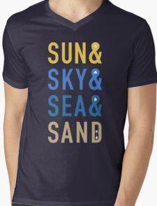 Fun In The Sun Mens V-Neck T-Shirt