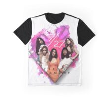 Fifth Harmony 7/27 Pink Graphic T-Shirt