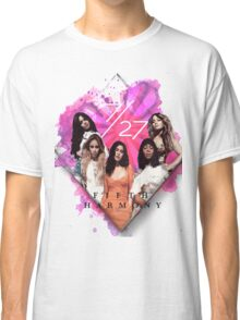 Fifth Harmony 7/27 Pink Classic T-Shirt