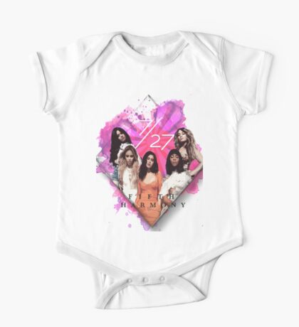 Fifth Harmony 7/27 Pink One Piece - Short Sleeve