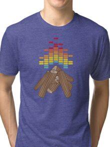 Crackling Fire Tri-blend T-Shirt